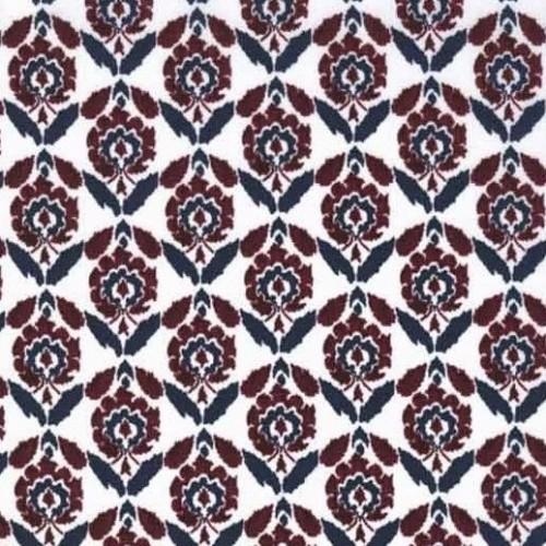Liberty Beyoglu bordeaux Coloris B Tissu liberty pas cher à la coupe au metre betsy bleu marine