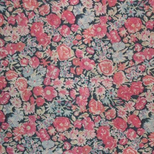 Tissu liberty fabrics tana lawn coton batiste fine Liberty Chive Ciboulette W