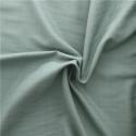 Double gaze de coton France Duval Stalla Vert de gris carreaux argent