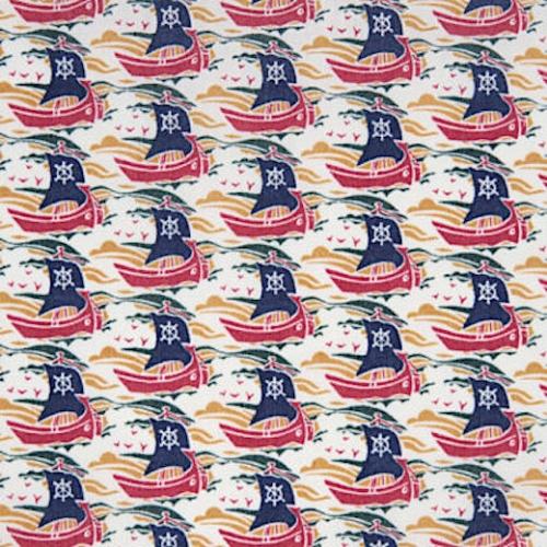 Liberty Samols coloris C: bleu, rouge, jaune