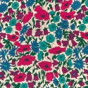 Coupon 70cm Liberty Poppy and daisy N