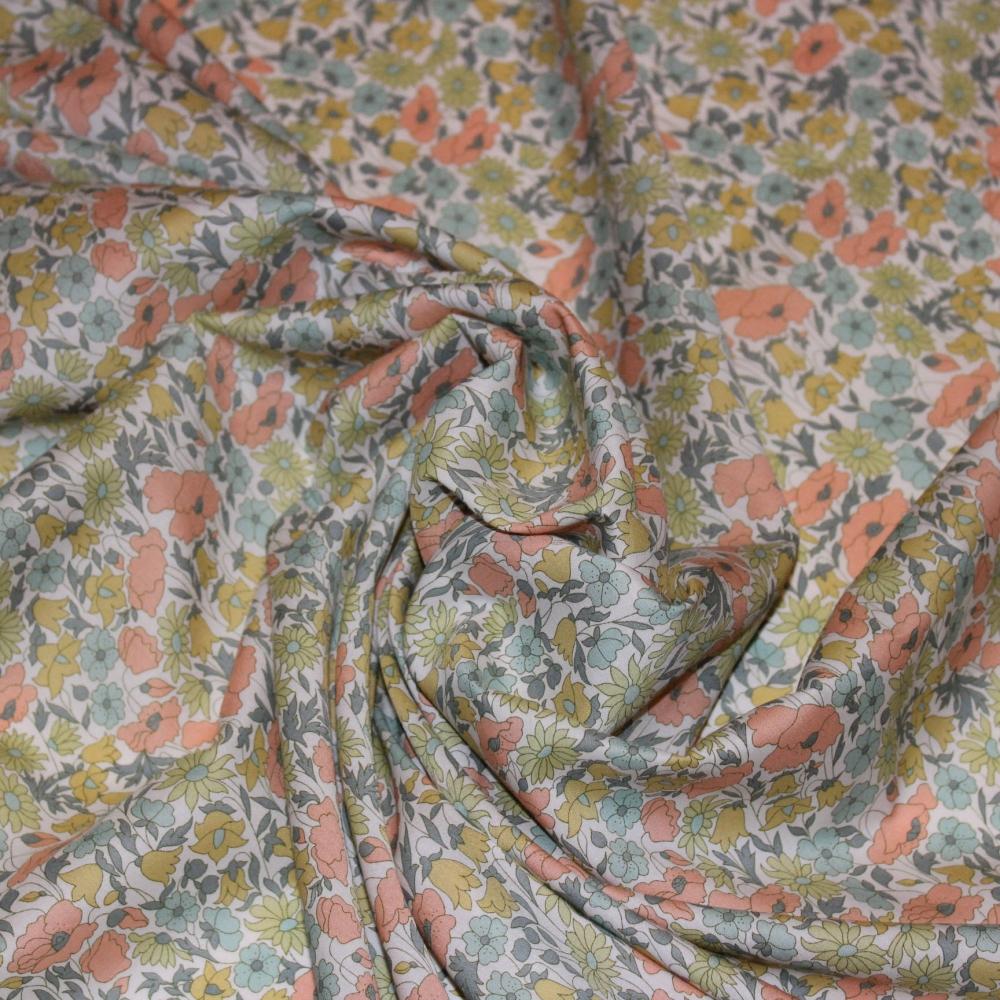 Liberty 4095H Tissus liberty fabrics au metre à la coupe Poppy and Daisy vintage H