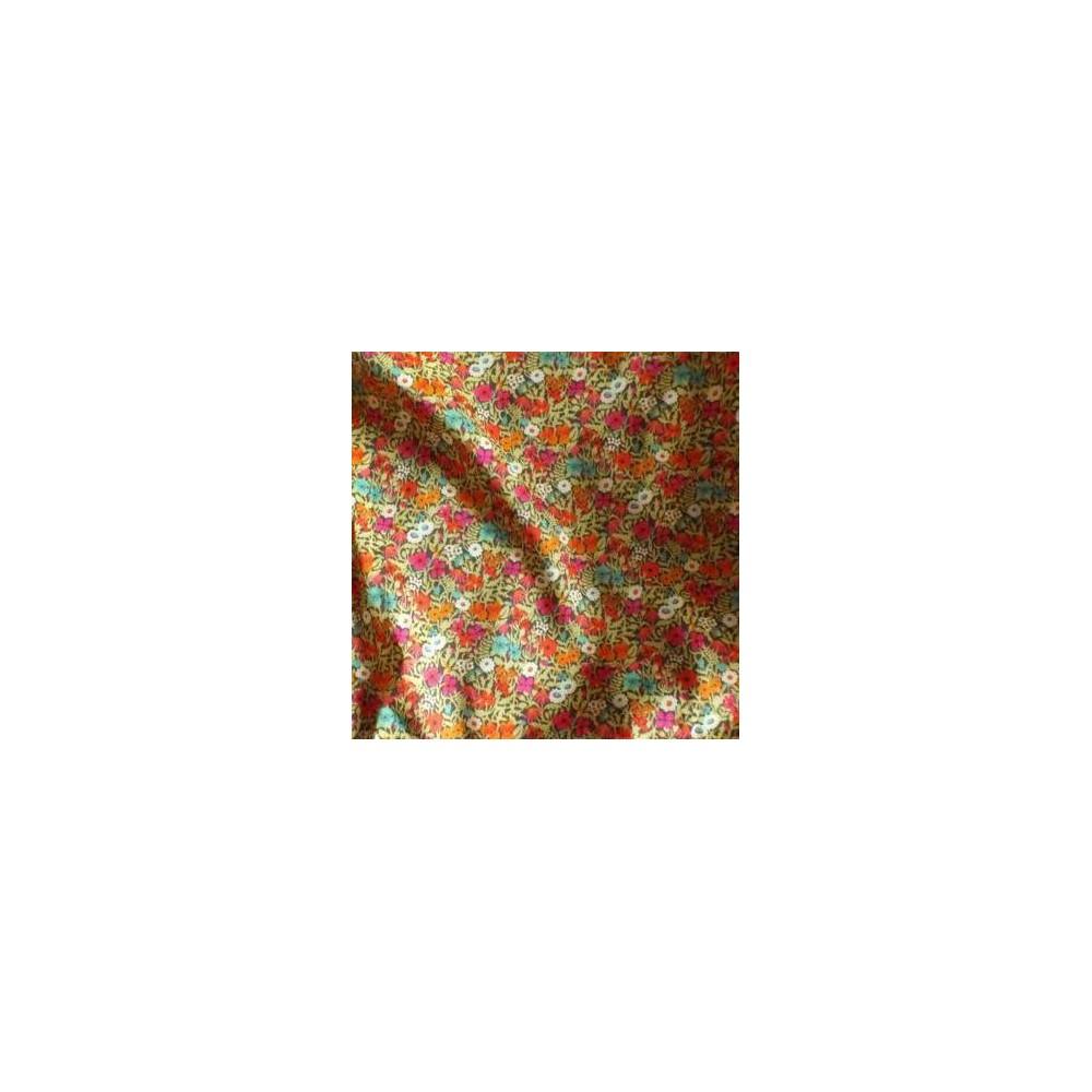 Tissu liberty pas cher à la coupe au metre Liberty Fitzgerald coloris A