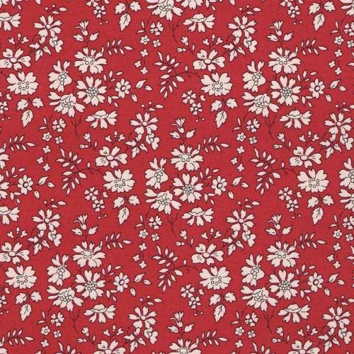 Liberty Capel rouge rubis nouveau coloris