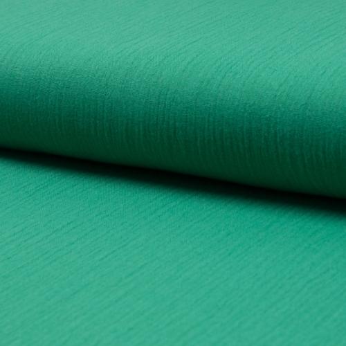 Gaze de coton uni coloris vert menthe