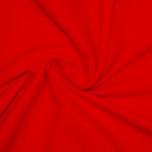 Plumetis de coton coloris rouge