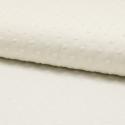 Plumetis de coton coloris écru