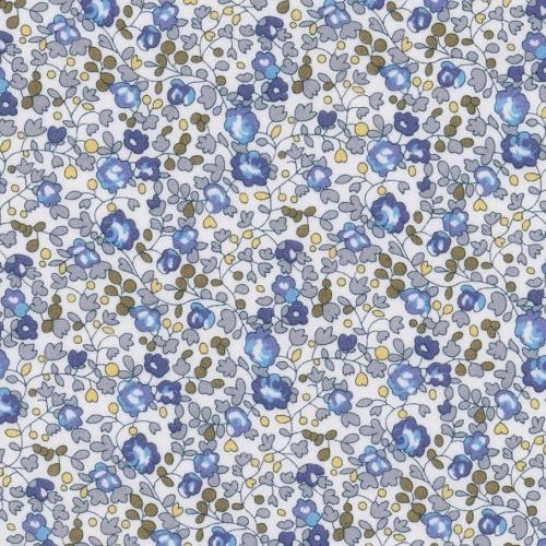 Liberty Eloise nouveau coloris bleu ancien gris