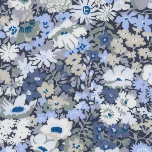 Liberty Thorpe nouveau coloris bleu ancien gris
