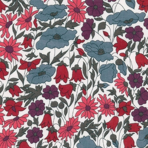 Liberty Poppy and daisy nouveau coloris P