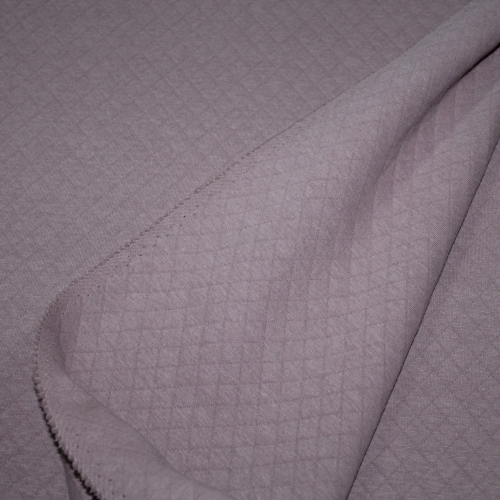 Tissu matelassé jersey vieux rose