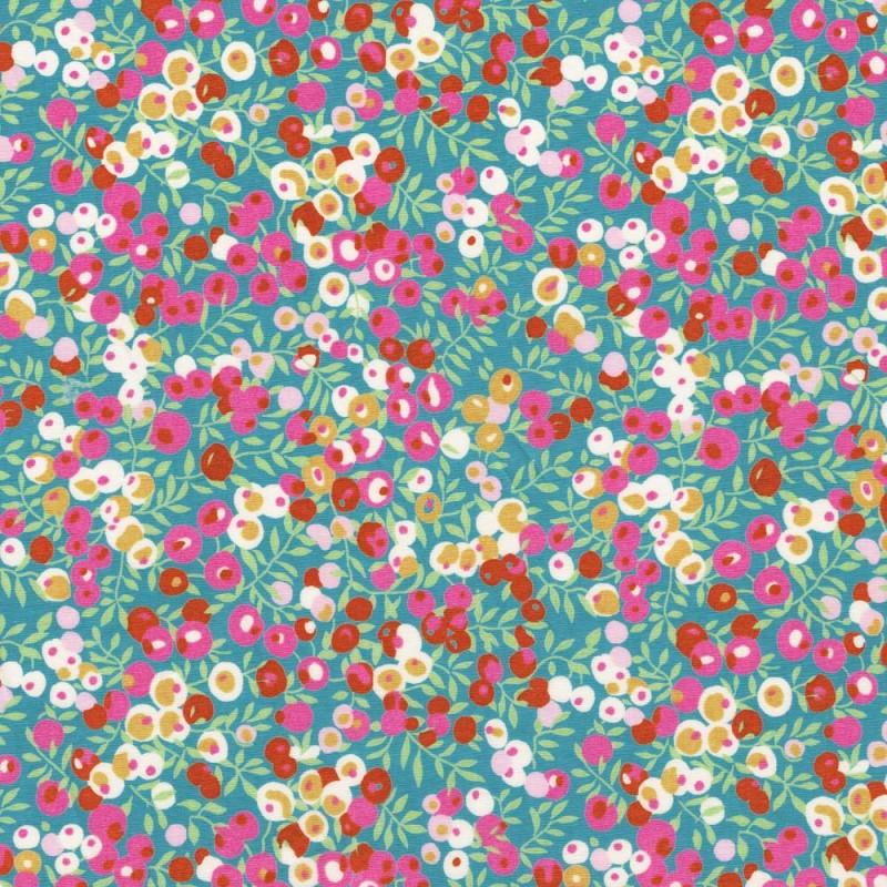 Wiltshire M Retro mint exclu tissus liberty fabrics tibebeo au metre a la coupe
