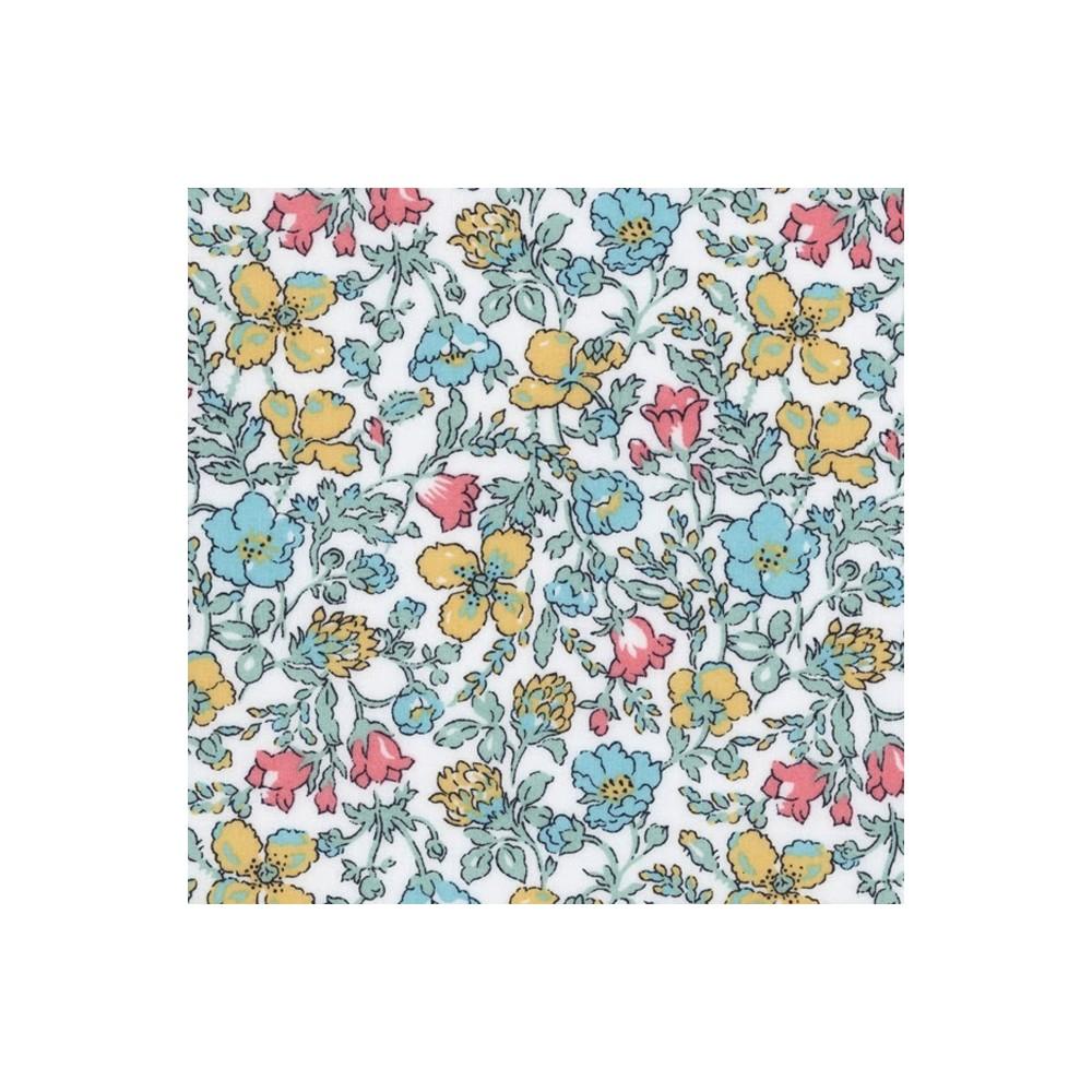 Liberty meadow pastel N tissus liberty pas cher Tissus liberty fabrics au metre à la coupe