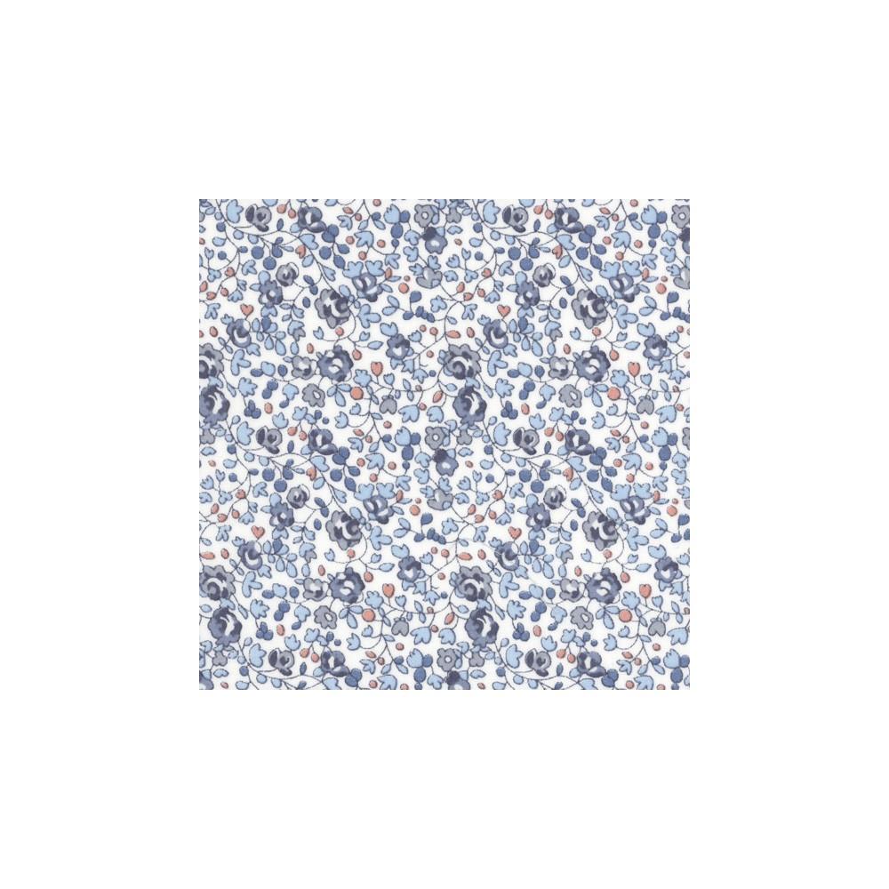 Liberty Eloise bleu Coloris D Tissu liberty pas cher à la coupe au metre