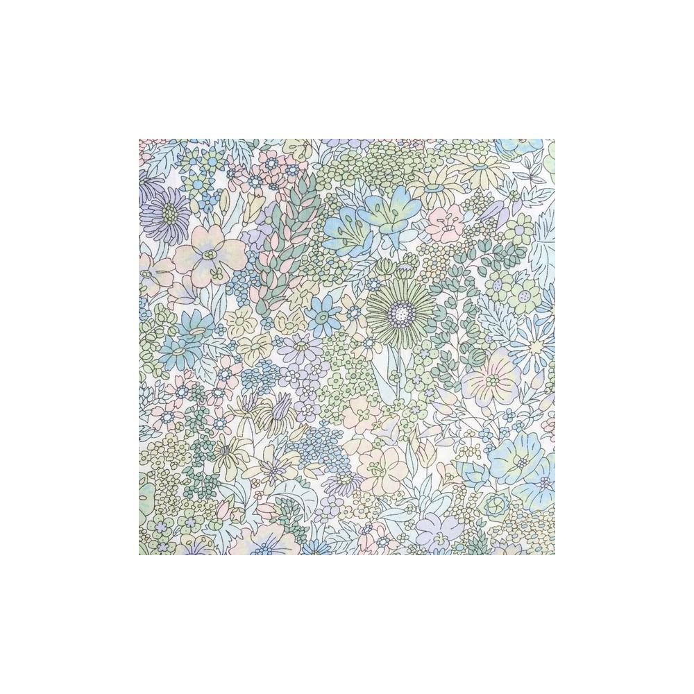 Tissu liberty pas cher à la coupe au metre Liberty Margaret Annie coloris E Pastel
