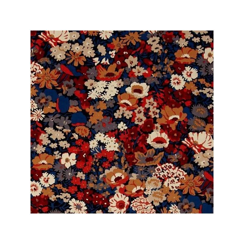 Liberty tana lawn Tissu liberty pas cher à la coupe au metre Liberty Thorpe automne canadien coloris L