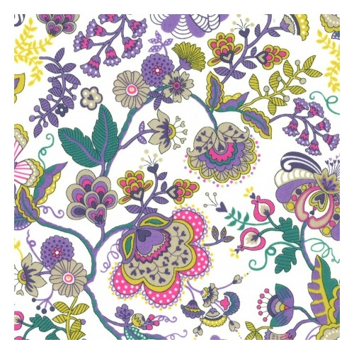 Liberty Mabelle coloris L Tana lawn tissus liberty coton batiste fine