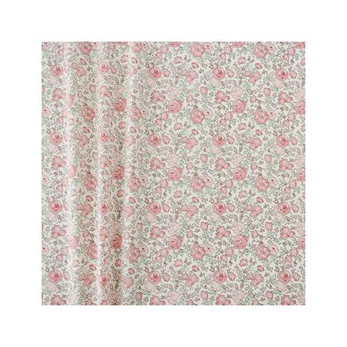 8024 trop joli Tissu liberty fabrics tana lawn coton batiste fine Liberty japonais Felicite roseraie: rose vert