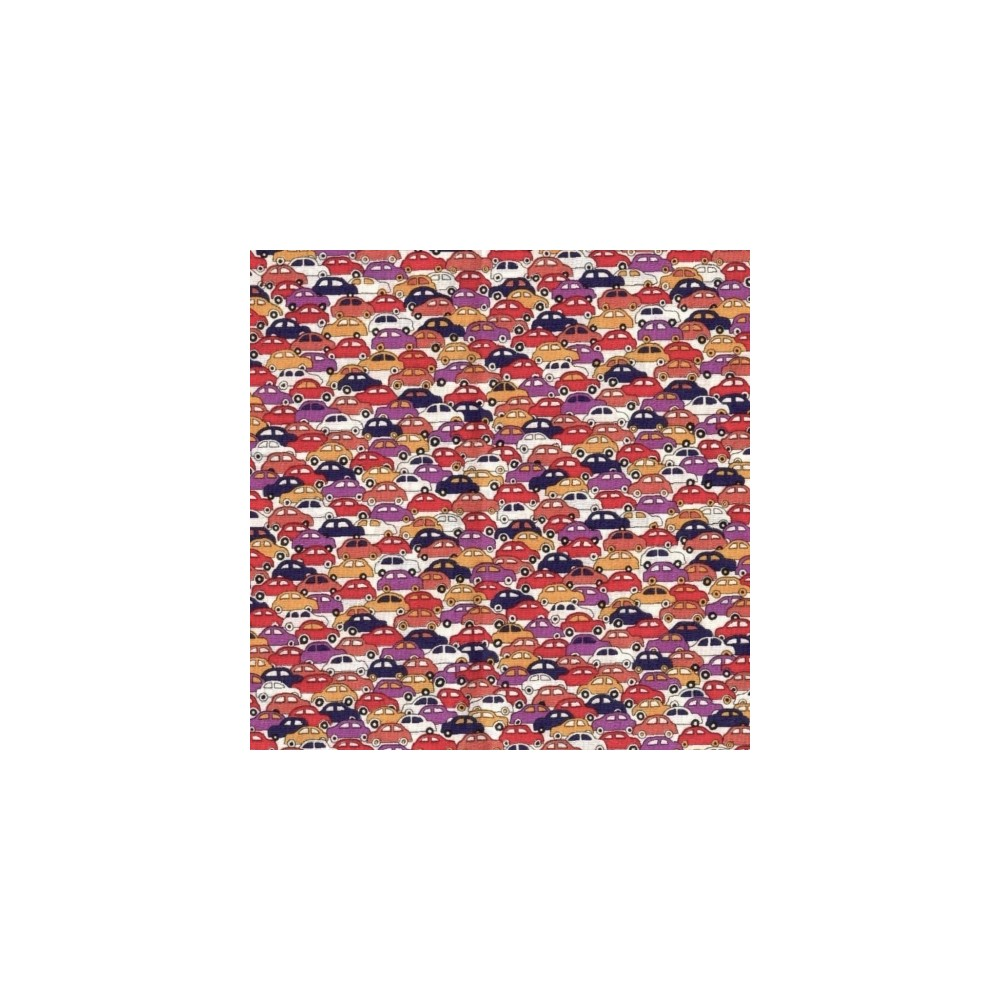 Tissu liberty fabrics tana lawn coton batiste fine Liberty Cars C