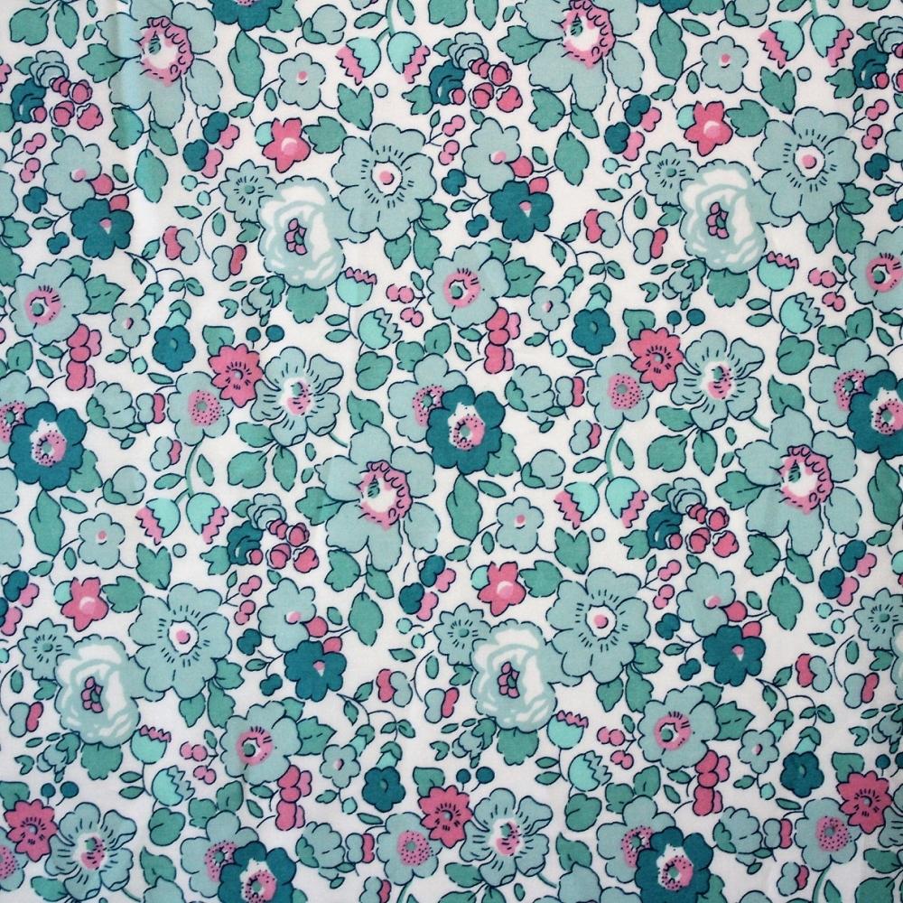 2019 tissus liberty fabrics coton Liberty Mitsi exclusif Mint