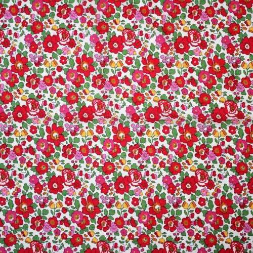 Liberty Betsy S grenadineTissu liberty fabrics tana lawn coton batiste fine tres joli robe jupe printemps