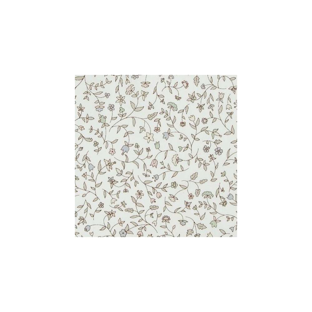 Liberty Cathy E coloris gris Tissu liberty fabrics tana lawn coton batiste fine