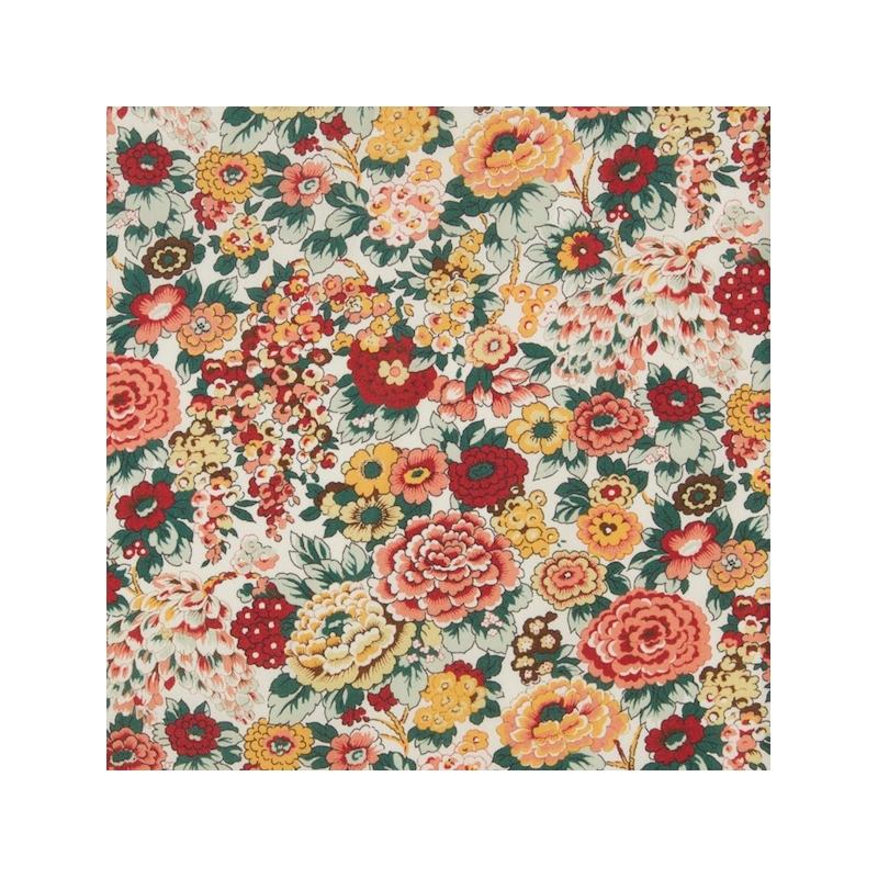Tissu liberty fabrics tana lawn coton batiste fine Liberty Elysian couleurs d'automne
