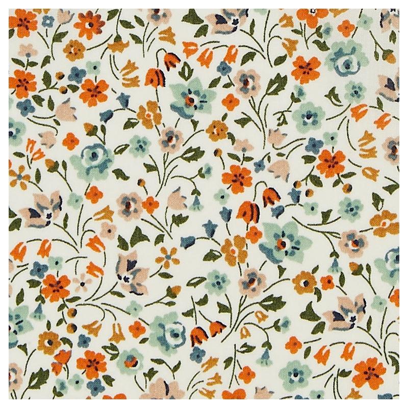 Tissu liberty fabrics tana lawn coton batiste fine Liberty Kimberley and Sarah D
