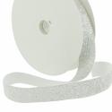 Elastique Lurex Argent 20mm