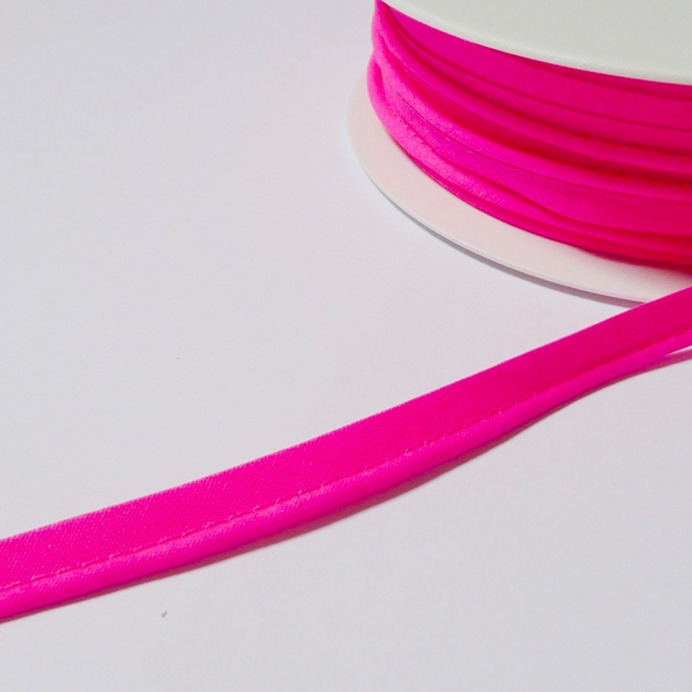 Passepoil 10mm rose fluo
