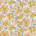 Liberty Swirling petals coloris C Jaune