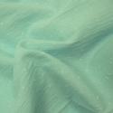 Plumetis de coton coloris mint