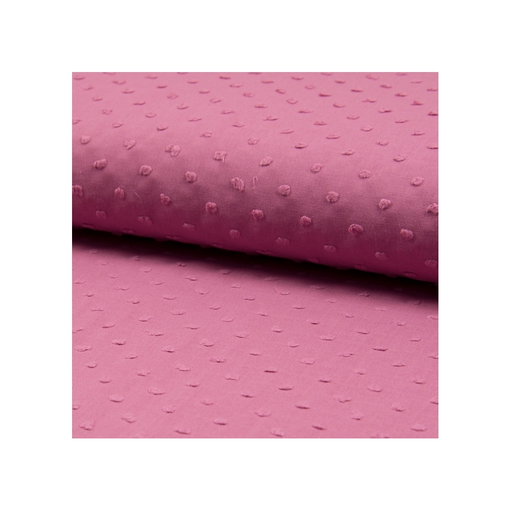 Plumetis de coton coloris