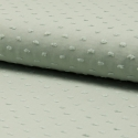 Plumetis de coton coloris vert tilleul