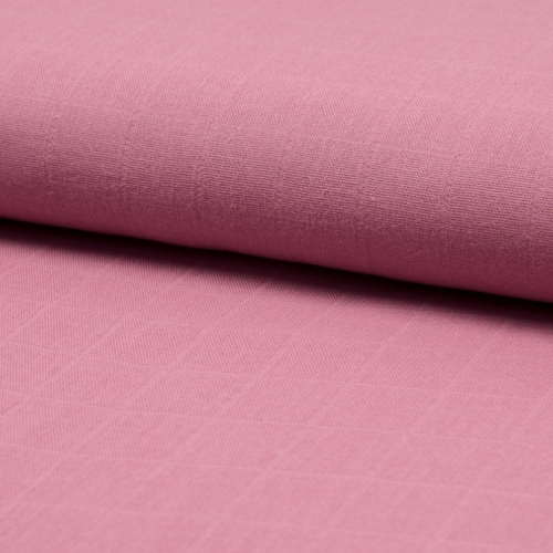 Lange de coton coloris bois de rose