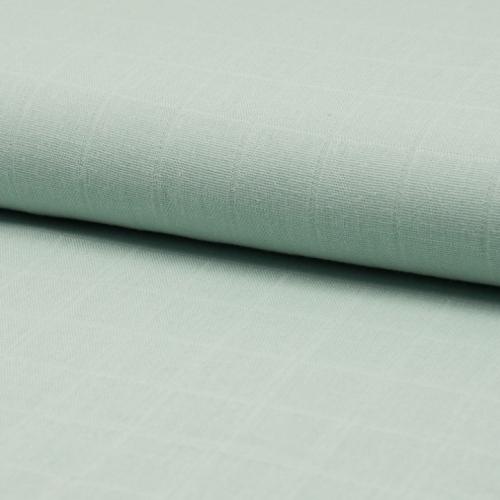 Lange de coton coloris vert tilleul
