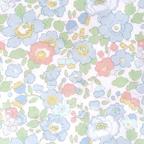 Liberty Betsy Japonais 15I bleu / vert
